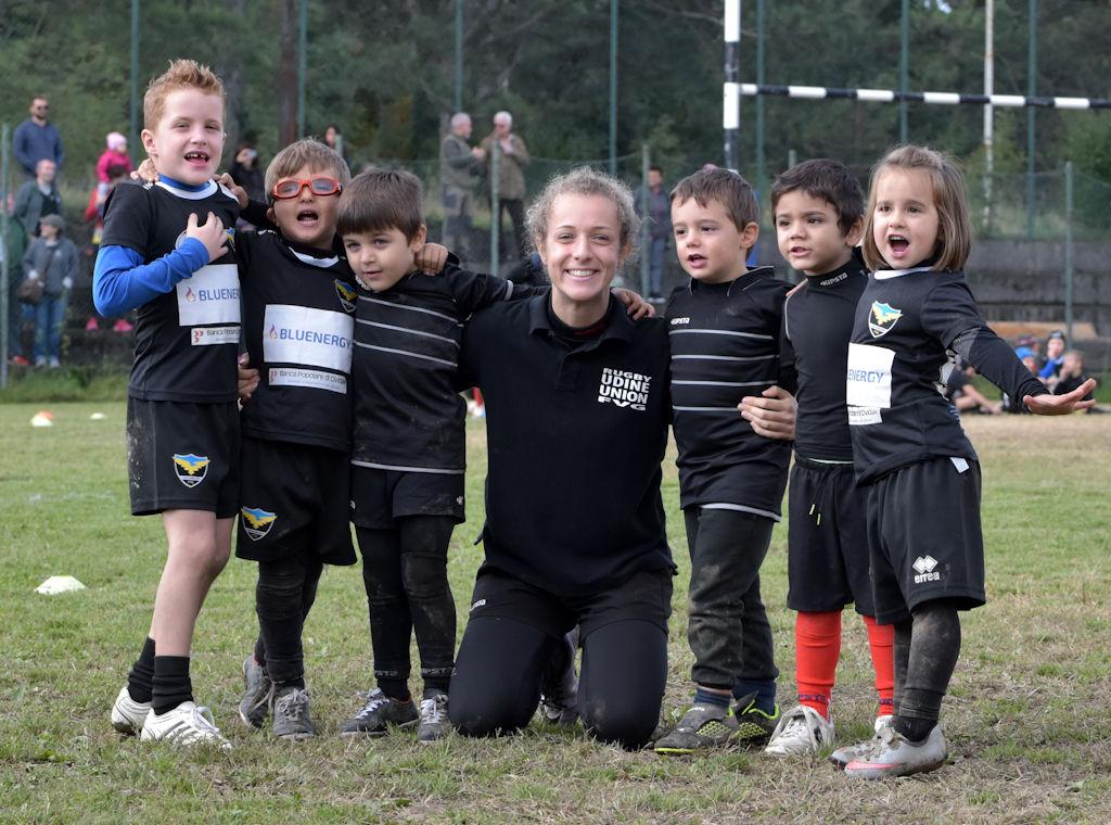 Il Mini-Rugby al concentramento di Prosecco