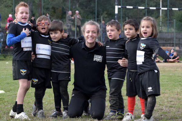 mini-rugby al concentramento di Prosecco