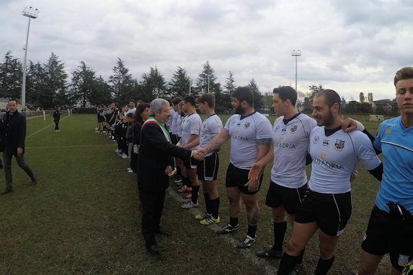 La Rugby Udine nella giornata dedicata alle Forze Armate