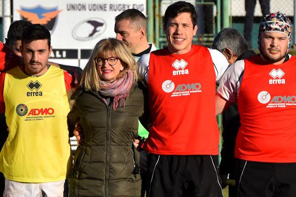 La Rugby Udine si schiera con Admo
