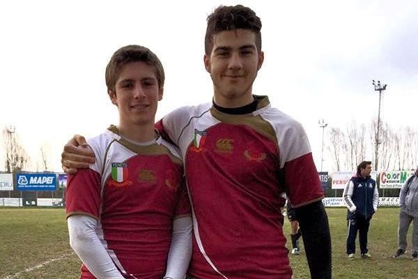 Alberto Comelli e Filippo Burin