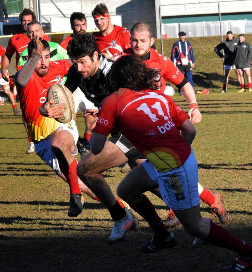 Pietro Rigutti della Rugby Udine