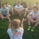gli atleti della Rugby Udine incontrano i volontari dell'Admo