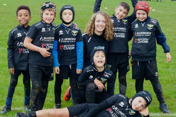 Under 8 della Rugby Udine Union FVG